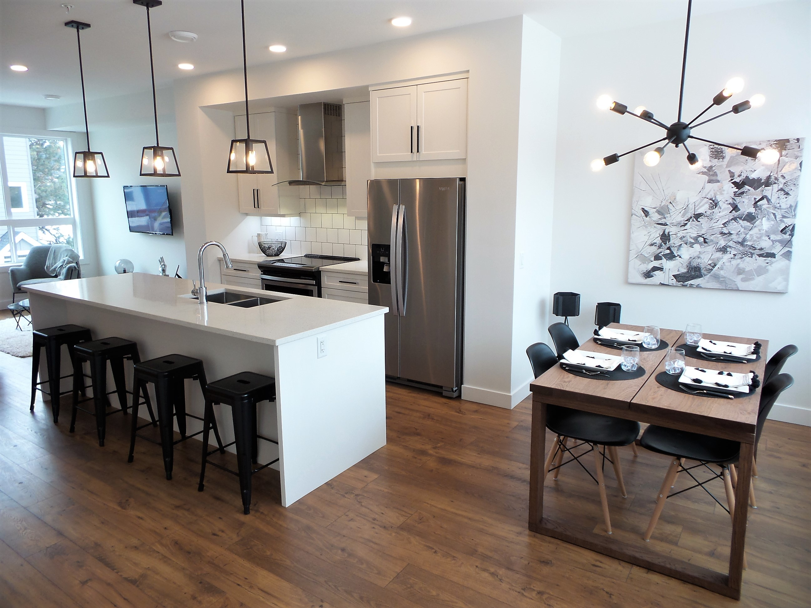 Beautifully designed 3 bedroom townhomes in Lake Country.