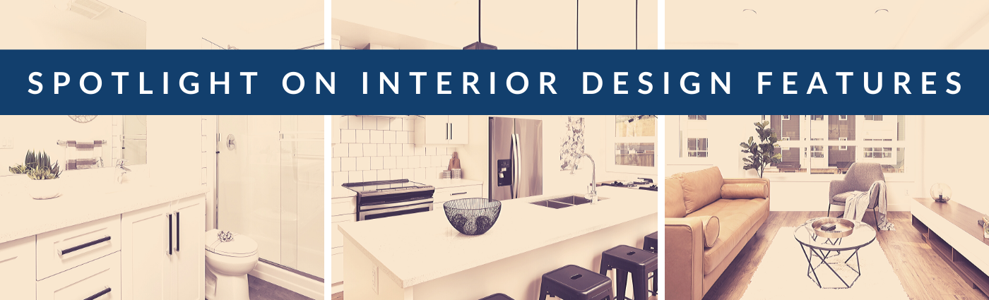 Interior Design Features. 3 Bedroom Townhomes in Lake Country, BC.